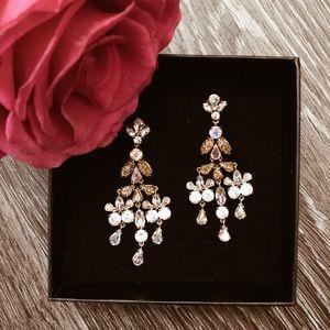 J Crew Chandelier earrings ✨